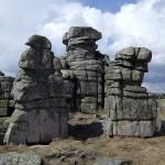 De drie pelgrims in het Poolse Reuzengebergte